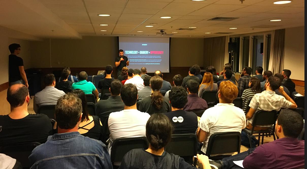 Our recruitment event in Rio de Janeiro