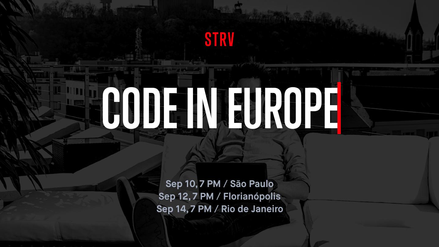 Code In Europe banner