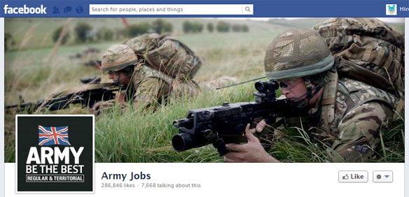 british army facebook