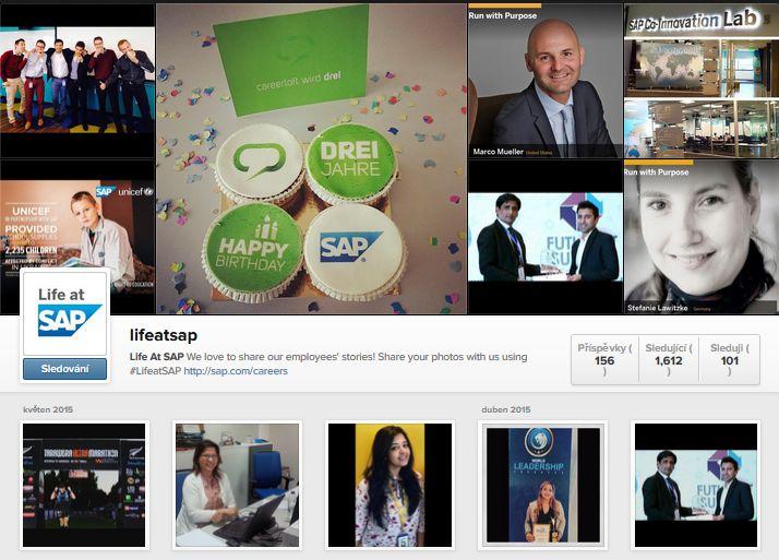 SAP Instagram